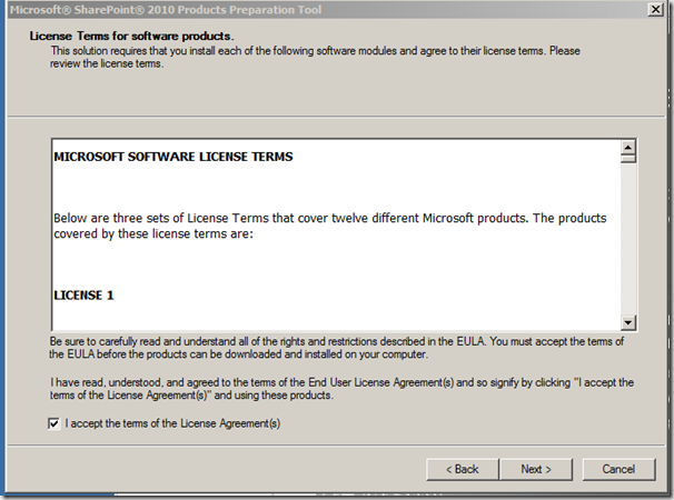 How To: Installation of SharePoint 2010 in a Small Farm Topology (4/6)
