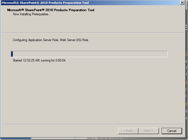 How To: Installation of SharePoint 2010 in a Small Farm Topology (5/6)