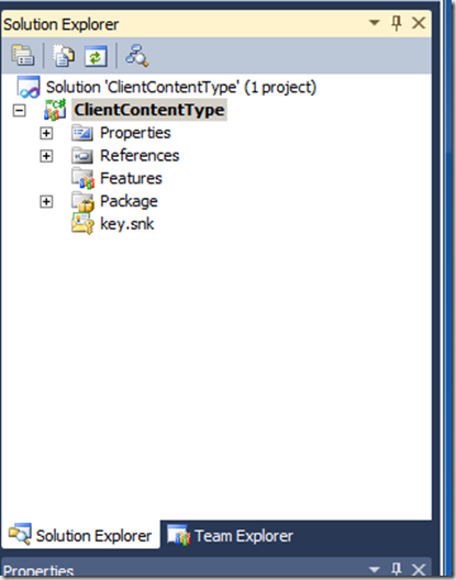 How To: Create Content Types with Site Columns in Code Visual Studio 2010 for SharePoint 2010 (5/6)