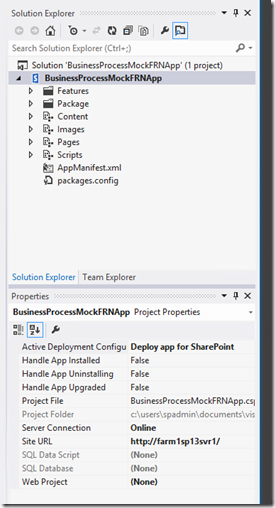 How To: Create SharePoint 2013 Workflow App-Site Columns to Fully Deployed App using Visual Studio 2012 (3/6)