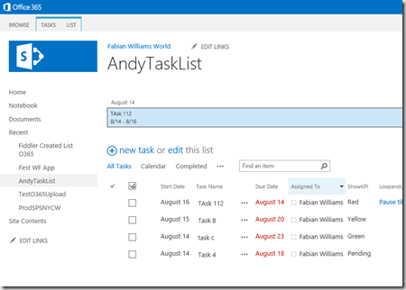 Using The Call Http Web Service Rest Calls In Sharepoint Online Using Spd Fabian Williams The Architect