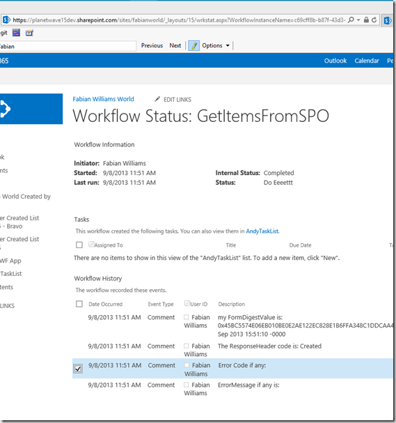 ACTUALLY RESOLVED: Unable to Create List using SharePoint 2013 REST
